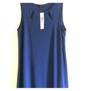 Tiana B. NWT Deep Blue Knee Length Dress